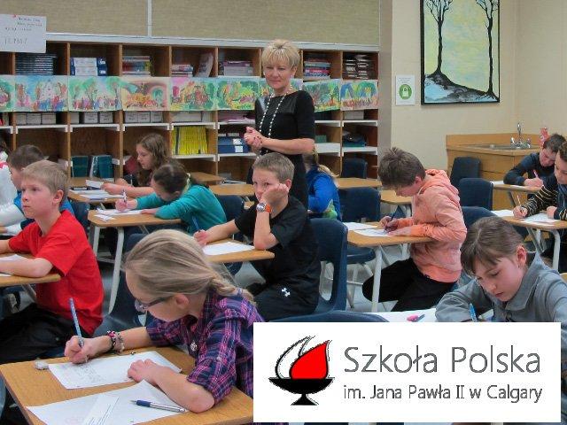 Szkoła Polska im. Św. Jana Pawła II w Calgary