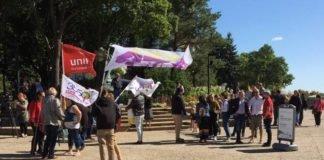 Nauczyciele i zwolennicy poprzedniego rzdu prowincjonalnego NDP