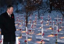 Jason Kenney At Field of Crosses
