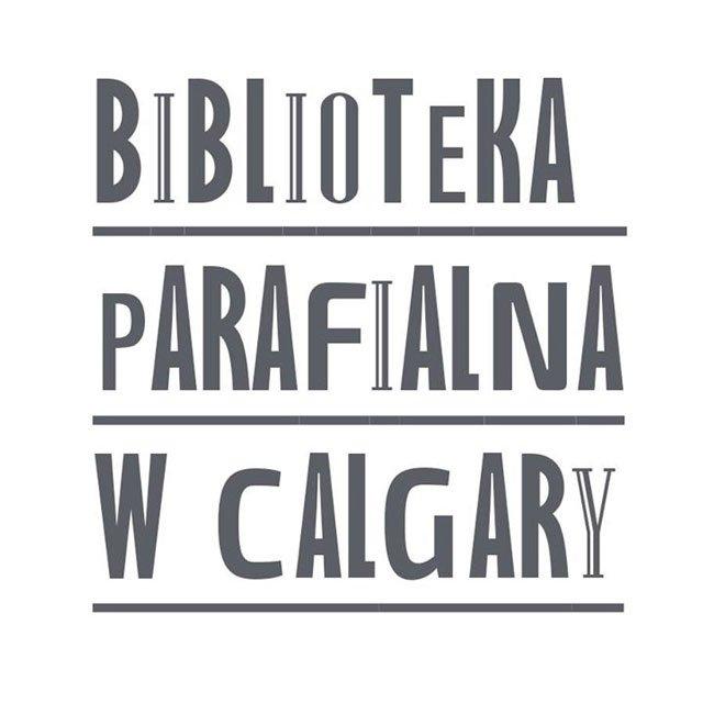 Biblioteka Parafialna w Calgary Logo