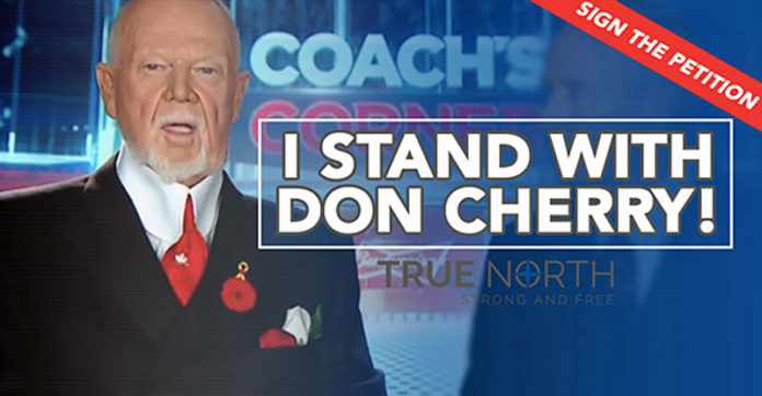 Don Cherry petition