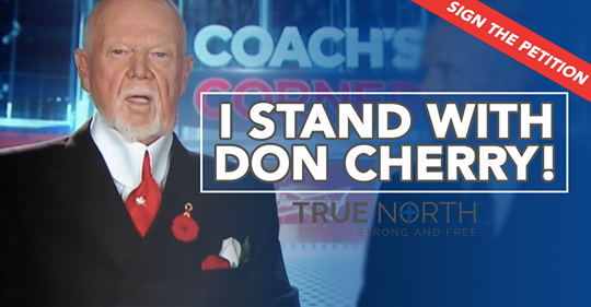 I stand with Don Cherry petition