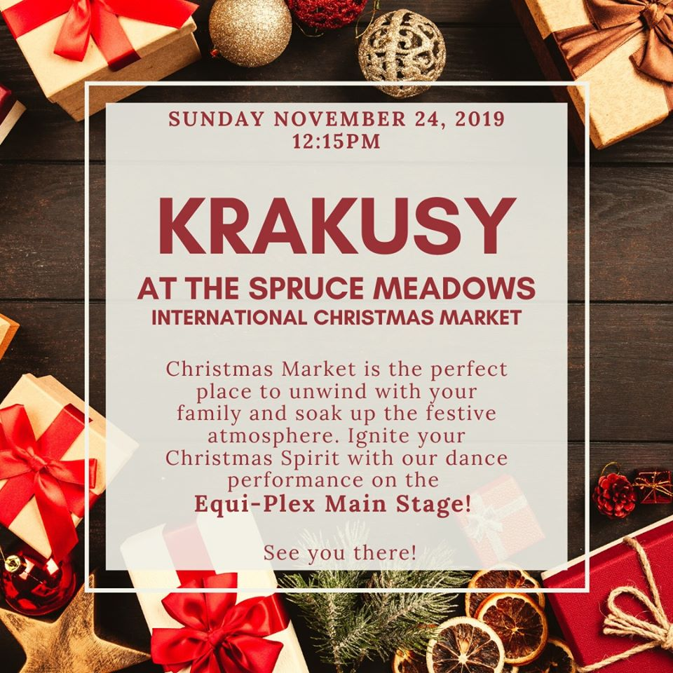 Krakusy Calgary at International Christmas Market poster