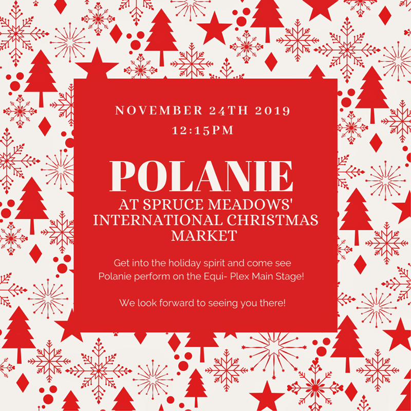 Polanie at International Christmas Market 2019 poster