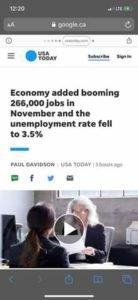 Alberta straciła w listopadzie 18, 000 miejsc pracy: Statistics Canada 3