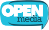 Open Media logo