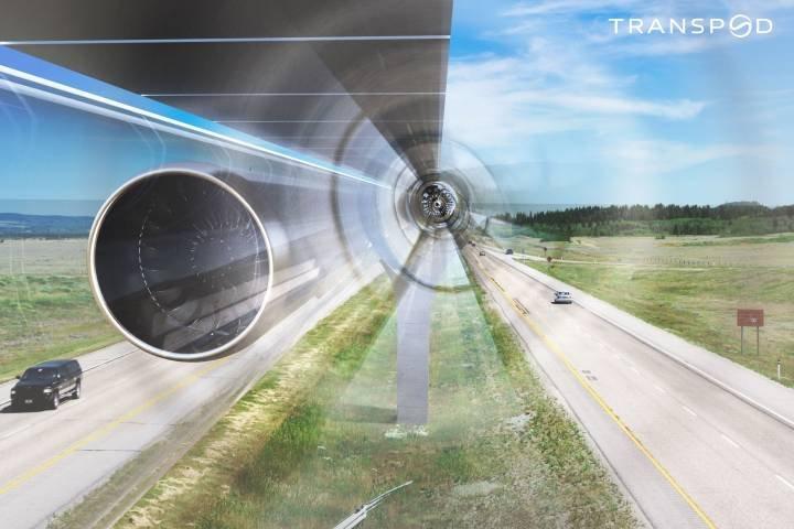 """Ultraszybka tuba """"TransPod"""" przetransportuje ludzi między Edmonton i Calgary w 30 minut 2"""