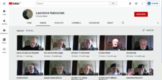 Lawrence Nabozniak youtube channel