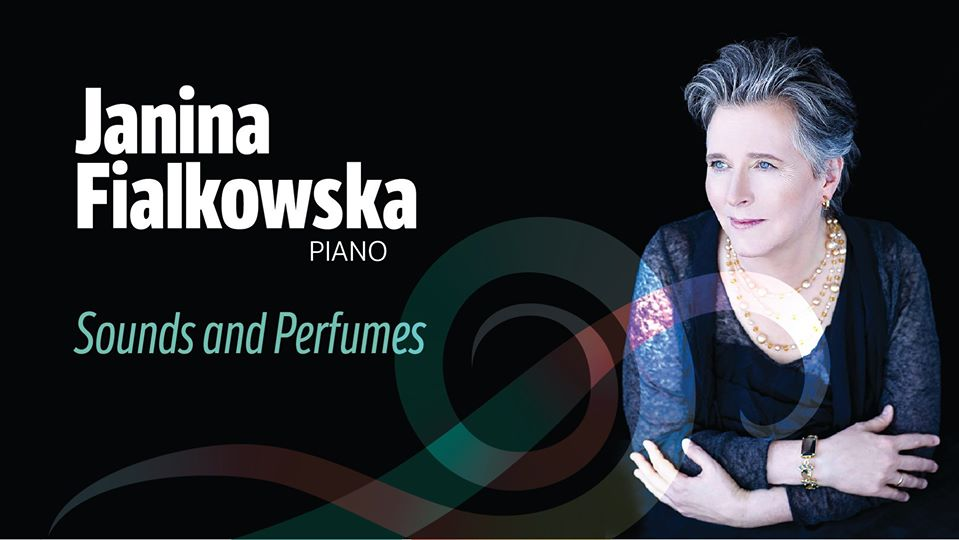 Janina Fialkowska High River Concert poster