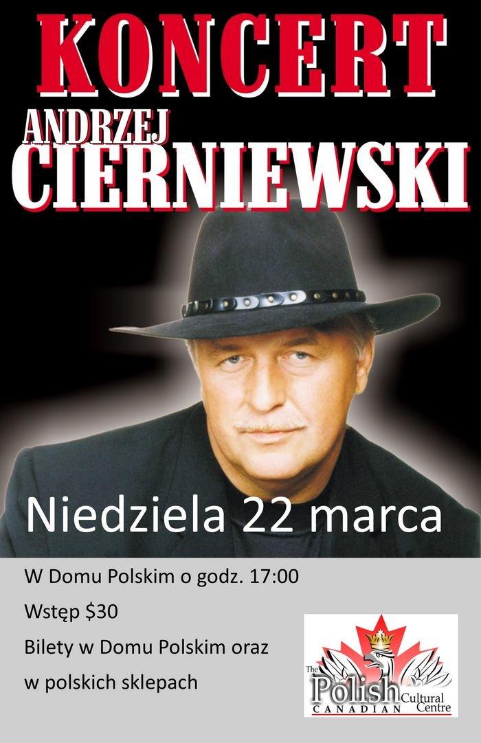 Andrzej Cierniewski Calgary poster
