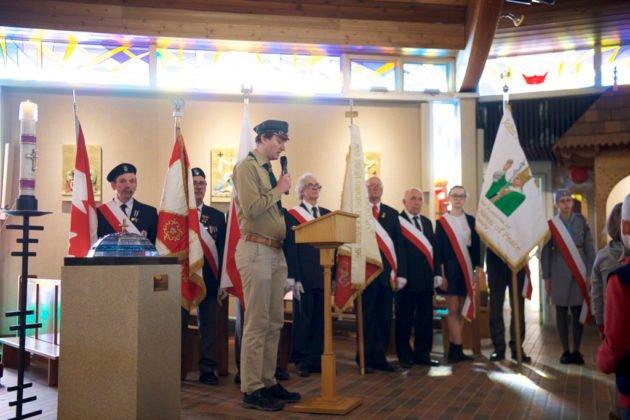 """Obchody Narodowegpo Dnia Pamięci """"Żołnierzy Wyklętych"""" w Calgary 13"""