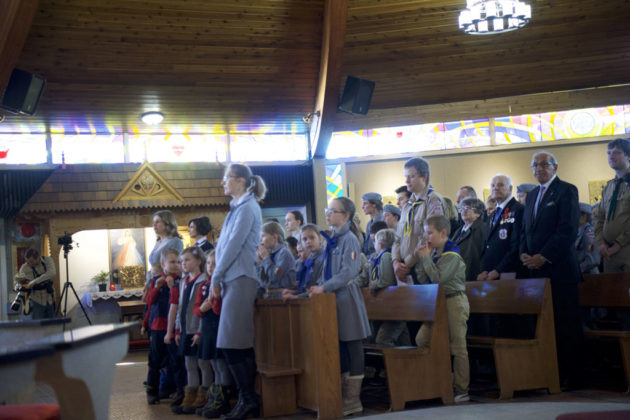 """Obchody Narodowegpo Dnia Pamięci """"Żołnierzy Wyklętych"""" w Calgary 4"""