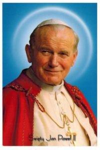 100 rocznica urodzin św. Jana Pawła II - Transmisja mszy z naszej parafii 1