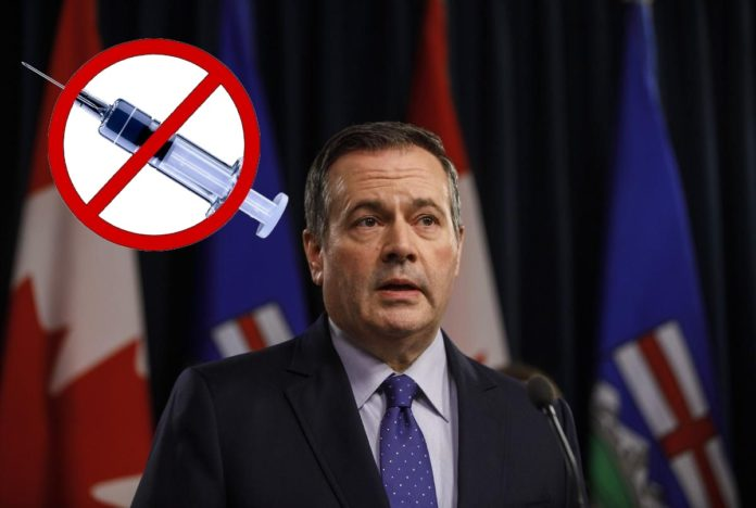 Premier Alberty Jason Kenney