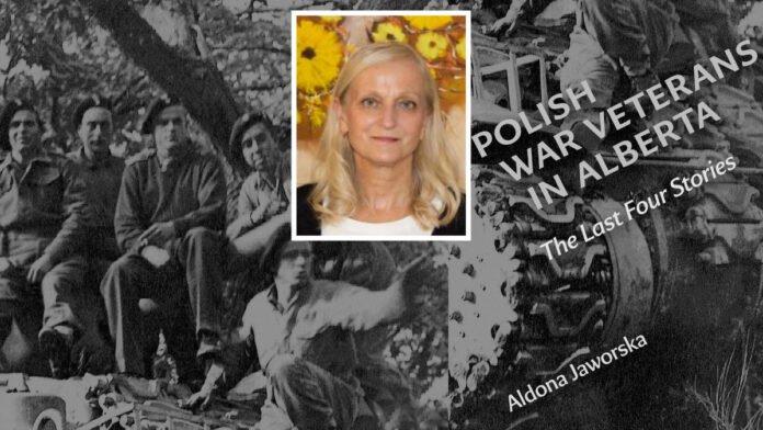 Spotkanie z Aldona Jaworska - Polish War Veterans in Alberta