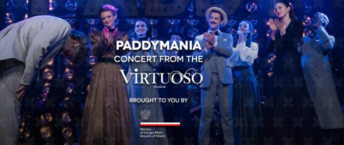 PADDYMANIA / CONCERT WITH SONGS FROM THE MUSICAL VIRTUOSO