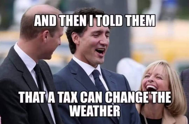 Justin Trudeau announced a massive hike to the carbon tax