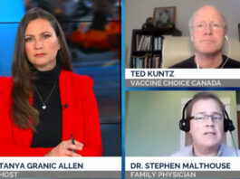 Dr. Stephen Malthouse and Ted Kuntz of Vaccine Choice Canada