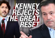 "Alberta Premier Jason Kenney REJECTS ""The Great Reset"""