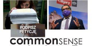 Common Sense Calgary petycja