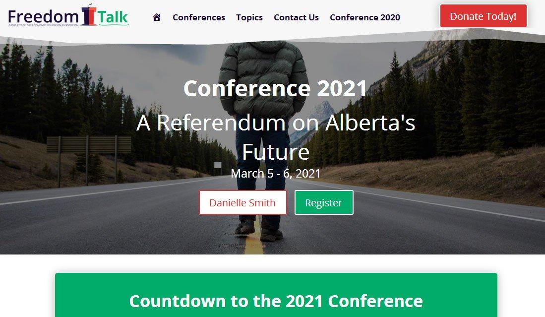 Conference 2021 A Referendum on Alberta's Future