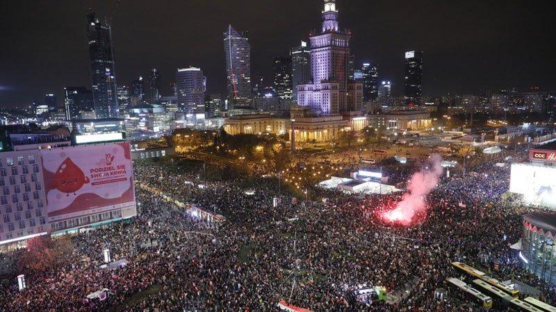 Polska strajki kobiet