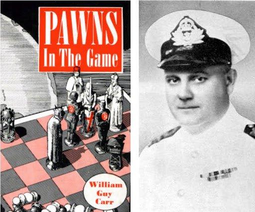 """William Guy Carr -  """"Pionki w grze"""""""