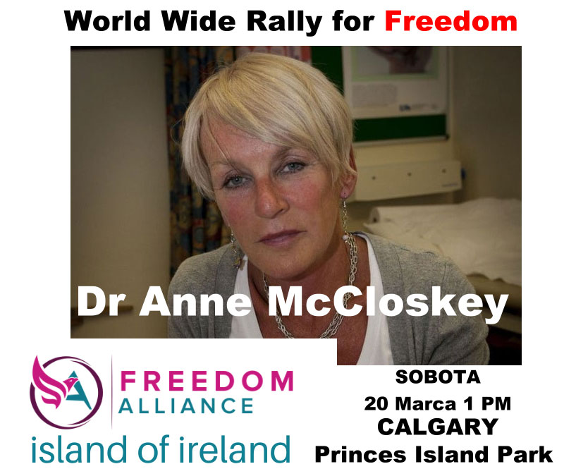 Dr Anne McCloskeythe World Wide Rally for Freedom
