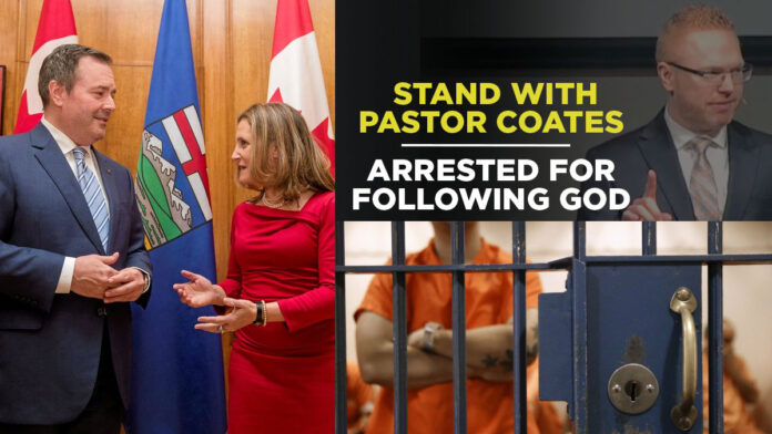 Alberta court jails Pastor Coates through to May 3-5 trial