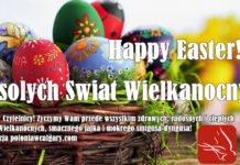 Happy Easter! Wesolych Swiat Wielkanocnych! Calgary Poster