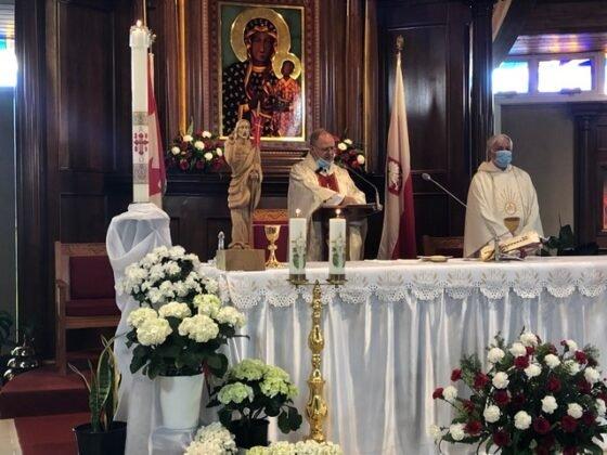 Święto Flagi 2021 Parafia Matki Bożej Królowej Pokoju Calgary 5
