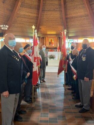 Święto Flagi 2021 Parafia Matki Bożej Królowej Pokoju Calgary 4