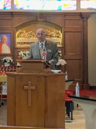 Święto Flagi 2021 Parafia Matki Bożej Królowej Pokoju Calgary 3