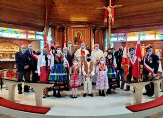 Święto Flagi 2021 Parafia Matki Bożej Królowej Pokoju Calgary