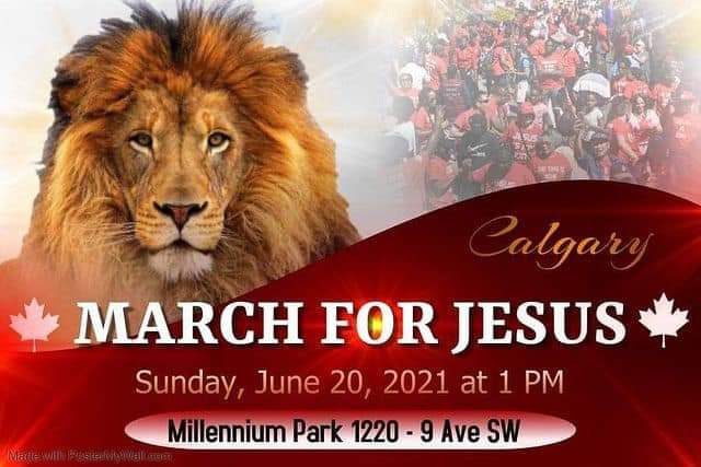 March for Jesus Calgary 2021