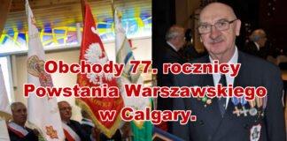 Powstanie Warszawskie - 77 rocznica